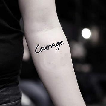 Tatuaje Temporal de Valor (2 Piezas) - www.ohmytat.com: Amazon.es ...