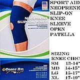Scott Specialties (v) Knee Sleeve 12 1/2 Neoprene Open Patella Medium Sportaid