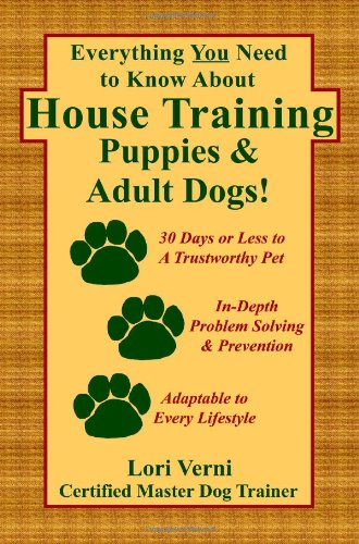 Everything About House Training Puppies product image
