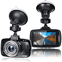 Aisdom 1080P Full HD Dash Cam With 32GB Card, Dash Camera For Cars Dashboard Camera, 2.7 LCD Screen, 150 Degree Wide-Angle View, G-Sensor, Night Vision, WDR, Parking Guard, Loop Recording, LDWS, FCWS