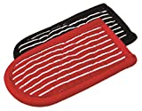 Lodge Striped Hot Handle Holders/Mitts, Set of 2 - Best Reviews Guide