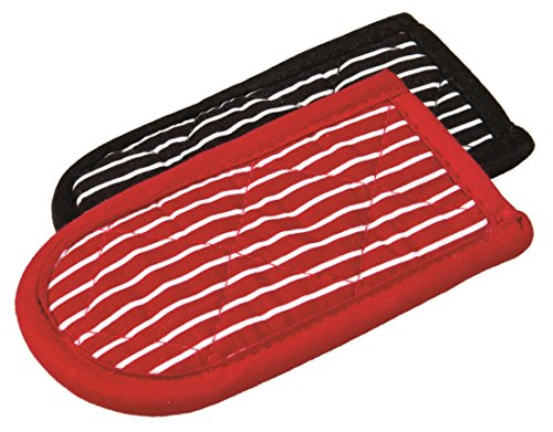 Lodge Striped Hot Handle Holders/Mitts, Set of 2 ()