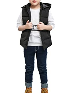 Insulated Parka Cotton Coat Zhhlinyuan 3-8T Snowsuit Lite Puffer Kid Quilted Jacket