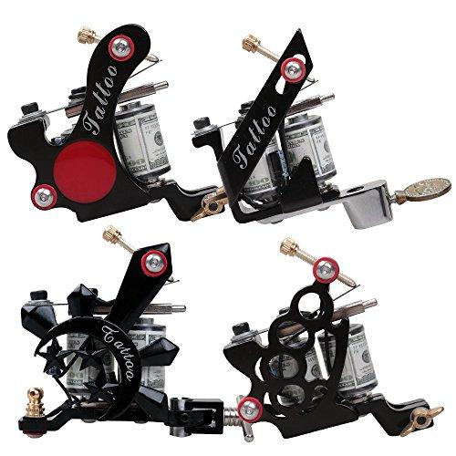dragonhawk complete tattoo kit 4 tattoo machines guns kit