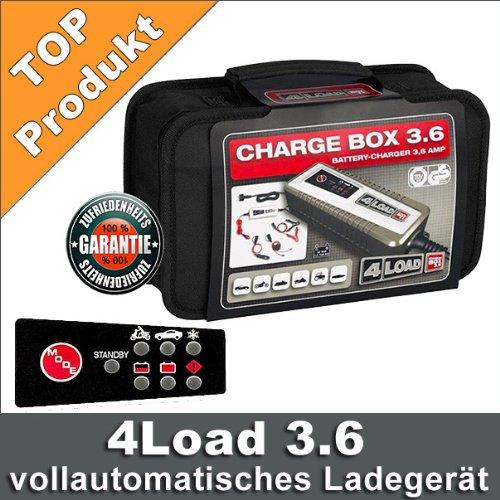 Batería Cargador Batería coche Charge Caja 4Load 3.6 ...