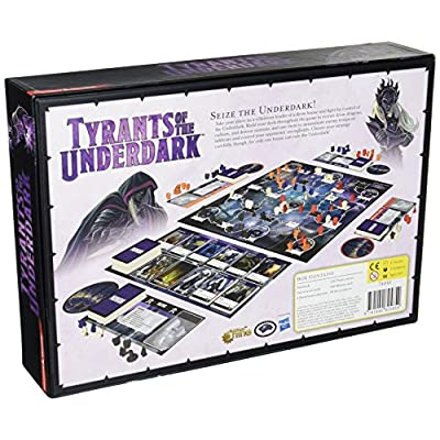 Dungeons & Dragons - Tyrants of the Underdark Board Game: Toys & Games