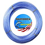 Cheap Monofilament Fishing Line 547yds 13 lb.-396 lb. Nylon Mono Fishing Lines – Super Strong Monofilament Fishing Leader Line Speargun Line Saltwater/Freshwater (Blue, 1.6mm/278.6lb)