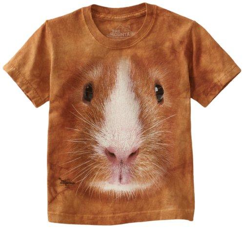 Guinea Pig Face - Meerschweinchen - Kinder T-Shirt in L