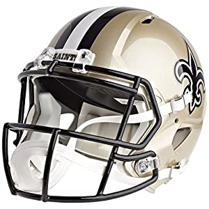 New Orleans Saints Officially Licensed Speed Full Size Replica Football Helmet
