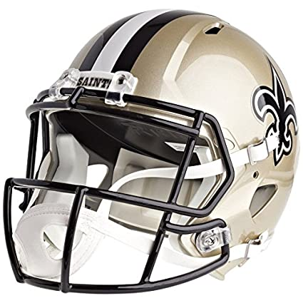 Image Unavailable. Image not available for. Color  Riddell New Orleans  Saints Officially Licensed Speed Full Size Replica Football Helmet 0254ff1c4