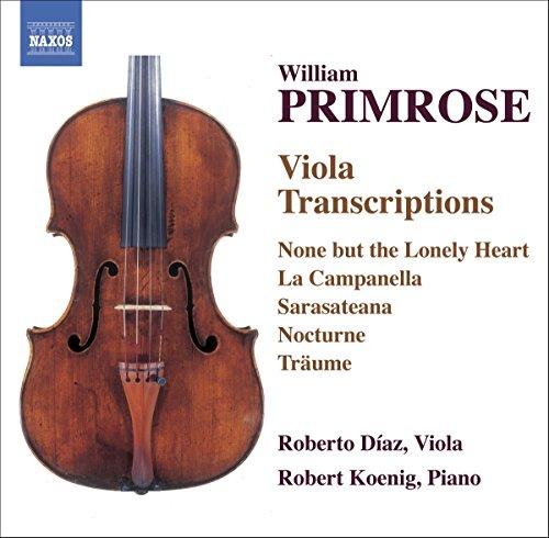 Primrose Viola (William Primrose: Viola Transcriptions)
