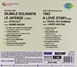 1942 A LOVE STORY & DILWALE DULHANIA LE JAYENGE.