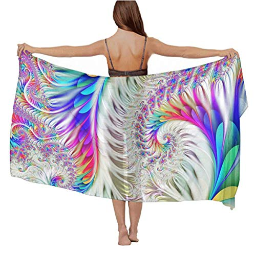 Lightweight colorful tie dye Shawl and Wrap for Women