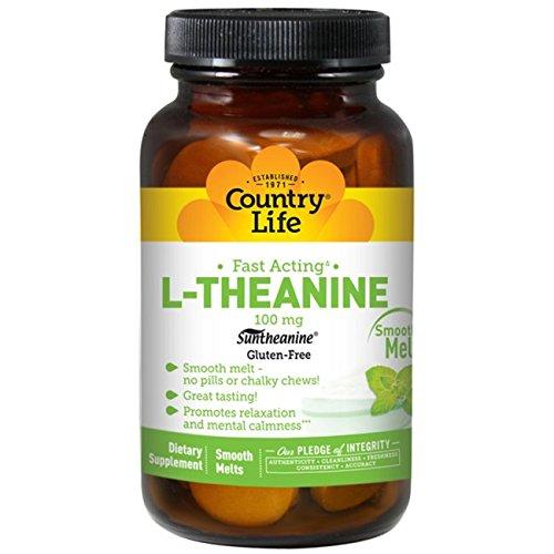 海外直送品Country Life L-Theanine, 60 Loz 100 Mg B00J0JMLJA