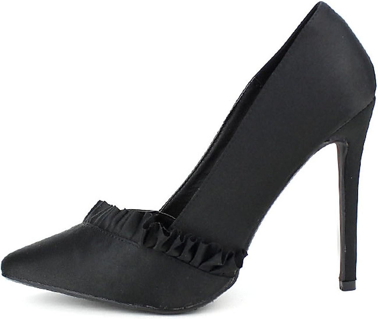 Cendriyon, Escarpins Noirs C'M Tania Chaussures Femme Taille