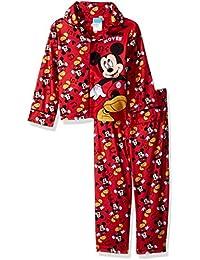 Boys Mickey Mouse 2-Piece Pajama Coat Set