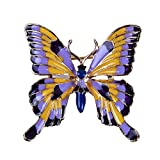 UINKE Elegant Butterfly Creative Insect Enamel Brooch Pins Lapel Pins Clothing Bag Decor for Women Girls