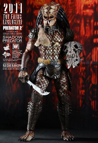 Hot Toys Predator Toy Fair 2011 Exclusive 1/6 Scale Action Figure Shadow Predator