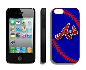 Best Iphone 4/4s Case Atlanta Braves Sports Element Coolest Custom Made Mobile Accessories