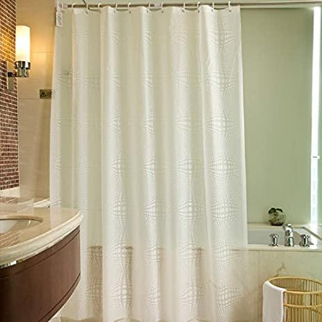 84 Inches PEVA Shower Curtain Liner For Extra Long 72 X