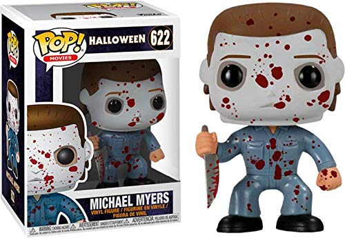 Funko Pop Movies Halloween: Bloody Michael Myers Collectible Figure, Multicolor]()
