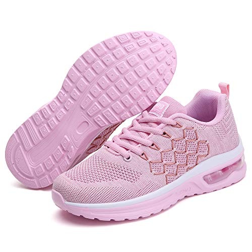TSIODFO Women Sport Running Shoes Gym Jogging Athletic Sneakers 7