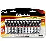 Energizer E91SBP36H Alkaline Battery, AA, 36/PK, BKSR