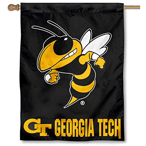 College Flags and Banners Co. Georgia Tech Yellow Jackets House ()