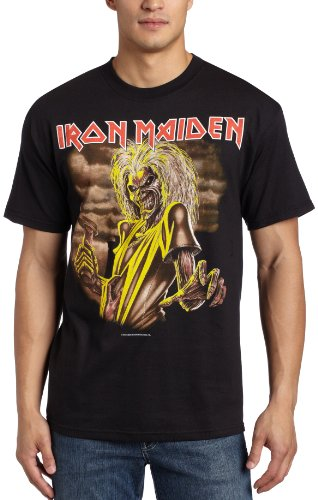 2010 Fall Limited Edition - Bravado Men's Iron Maiden New Killers T-Shirt, Black, Small