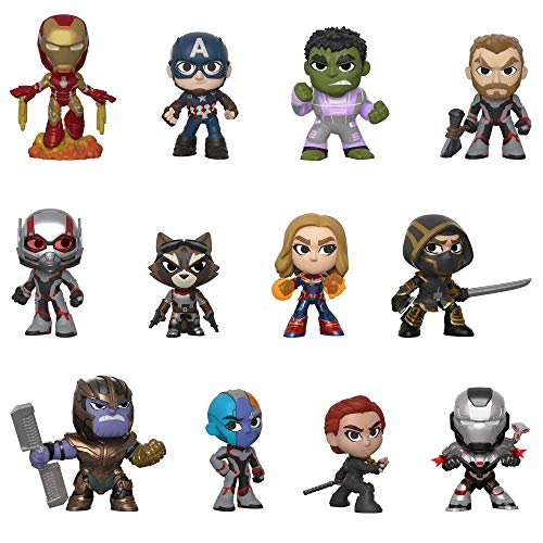 Funko- Mystery Mini Blind Box Avengers Endgame Styles Will Vary Marvel Vengadores Collectible figure, Multicolor, Estandar (37200) , color/modelo surtido
