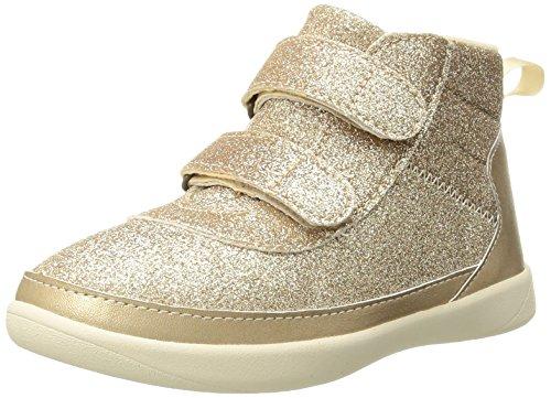 UGG Girls T Pritchard Sparkles Sneaker, Gold, 9 M US Toddler (Girls Sparkle Gold)