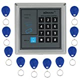 Product review for KKmoon RFID Proximity Door Entry Access Control System + 10 Key Fobs (Style 1)