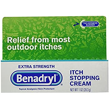 Benadryl Extra Strength Itch Stopping Cream, 3 Count