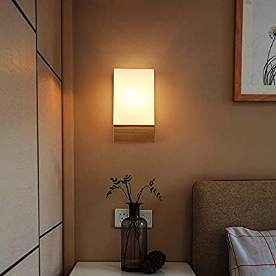 MBLYW LED Lámpara de pared Escalera japonesa Sala de estar Dormitorio Pasillo Luz Pared Balcón Luz