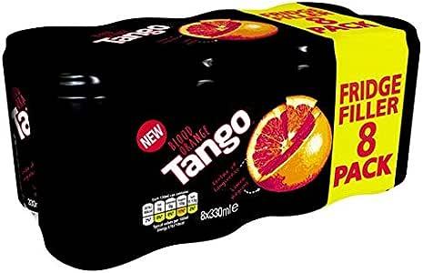 Tango Blood Orange 8 x 330ml: Amazon.es: Alimentación y bebidas