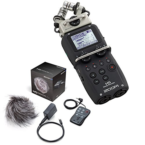 Zoom H5 Handy Portable Recorder & APH5 Accessories Kit by Zoom