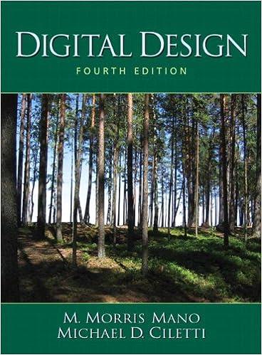 Digital Design 4th Edition M Morris R Mano Michael D Ciletti