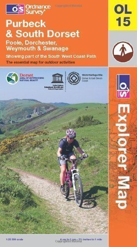 - Purbeck and South Dorset, Poole, Dorchester, Weymouth & Swanage: Showing part of the South West Coast Path (OS Explorer Map) by Ordnance Survey B4 edition (2012)