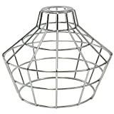 iLightingSupply 37-0114-25 Cage Premium Washer Mount Bulb Cage with Large Washer - Open Style - Polished Brassgalvanized
