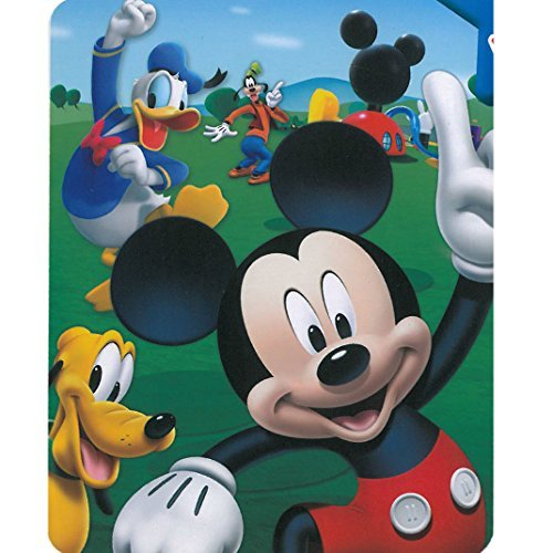 Blanket Mouse Mickey (Mickey Mouse - Playhouse 40x50 Mink Style Blanket in Gift Box)