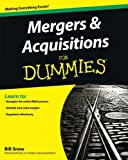 img - for Mergers and Acquisitions For Dummies by Bill Snow (2011-05-03) book / textbook / text book