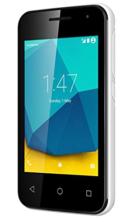 Vodafone Smart First 7 Pay As You Go Smartphone (Locked to Vodafone  Network) - White
