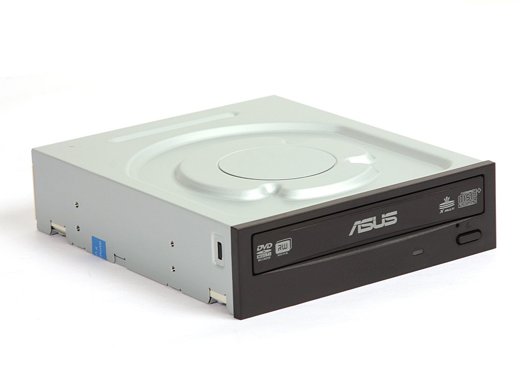 Asus 24x DVD-RW Serial-ATA Internal OEM Optical Drive DRW-24B1ST (Black) by Asus