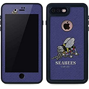 US Navy iPhone 7 Plus Case - Seabees Can Do | Military X Skinit Waterproof Case from Skinit