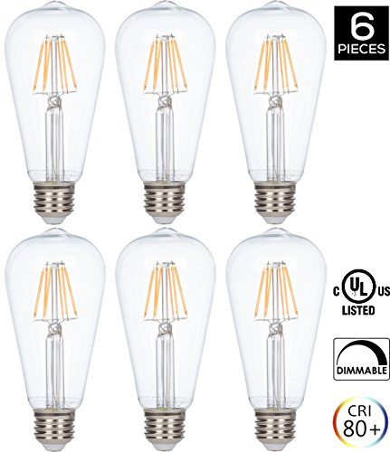 Clear Led Filament String Lights - 7