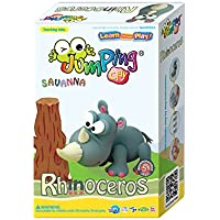Jumping Clay – Rhinoceros – Air Dry Clay modelleme aleti kiti Jumping Clay