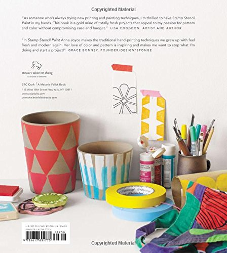 Stamp Stencil Paint: Making Extraordinary Patterned Projects by Hand by Stewart Tabori& Chang (Image #1)