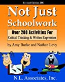 Not Just Schoolwork, Amy Burke and Nathan Levy, 1878347551
