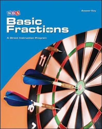 Corrective Mathematics Basic Fractions, Additional Answer Key (MATH MODULES-BASIC FRACTIONS) (Basic Math Fractions)