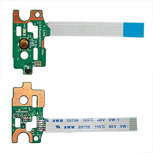 New Power Button Board With Cable DA0U83PB6E0 For HP Pavilion 14-N 14-N000 14-N200 15-N 15-F Series 14-N248CA 14-N019NR 14-N026LA 15-F003DX 15-F033WM 15-N011NR 15-F039WM 15-N020US 15-N023CL ()